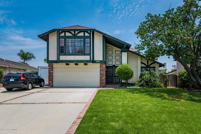 Simi Valley Single Family Home For Sale: 2650 Trenley Court