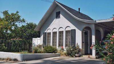 Monrovia Single Family Home For Sale: 411 North Canyon Boulevard