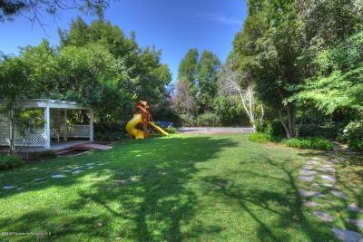 La Canada Flintridge Single Family Home For Sale: 4817 Hillard Avenue