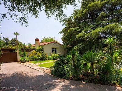 Altadena Single Family Home Active Under Contract: 928 East Palm Street