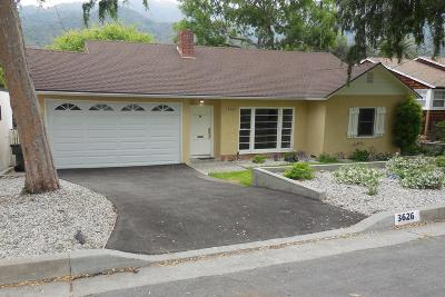 Glendale Single Family Home Active Under Contract: 3626 Montrose Avenue