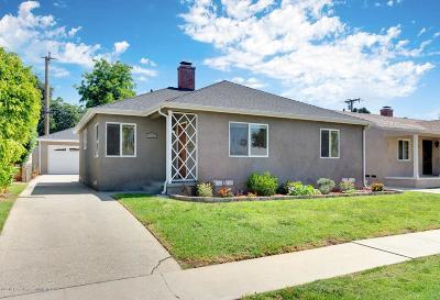 Altadena Single Family Home Active Under Contract: 725 West Sacramento Street