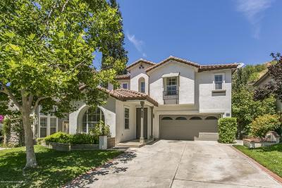Santa Clarita Single Family Home Active Under Contract: 28655 Silverking