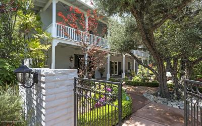 San Marino Single Family Home For Sale: 660 Lombardy Place