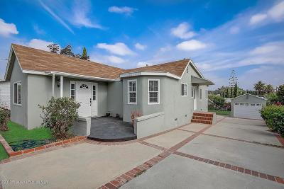 Alhambra Single Family Home Active Under Contract: 2719 Carlos Street