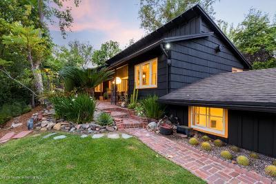 Pasadena Single Family Home Active Under Contract: 1351 Brixton Road