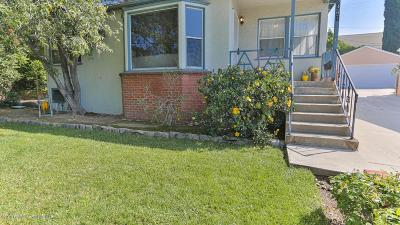 La Crescenta Single Family Home Active Under Contract