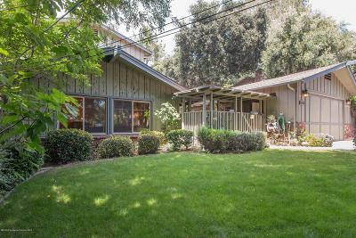 La Crescenta Single Family Home For Sale: 2447 Olive Avenue