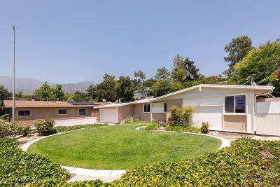 Los Angeles County Single Family Home Active Under Contract