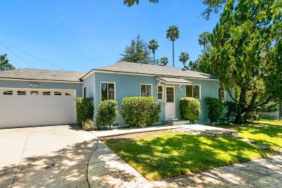 Burbank Single Family Home For Sale: 300 South Bel Aire Drive