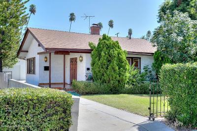 Pasadena Single Family Home For Sale: 36 South San Marino Avenue