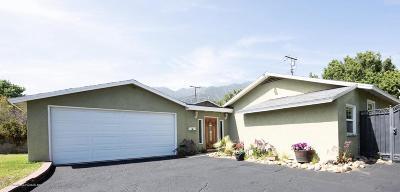 Pasadena Single Family Home Active Under Contract: 1060 Medford Road