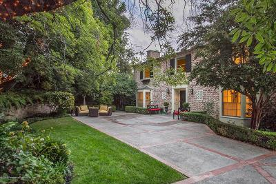 South Pasadena Single Family Home For Sale: 260 Hillside Road
