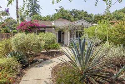 Altadena Single Family Home For Sale: 172 West Harriet Street