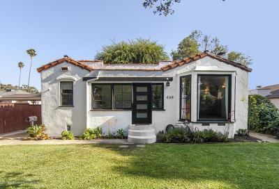 Pasadena Single Family Home Active Under Contract
