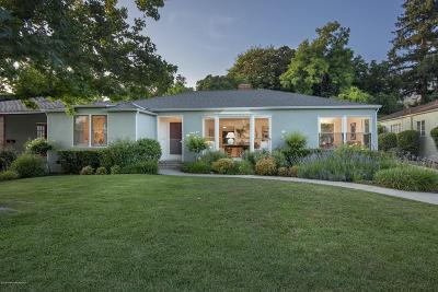 Altadena Single Family Home Active Under Contract: 1291 Meadowbrook Road