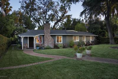 Altadena Single Family Home For Sale: 1120 New York Drive