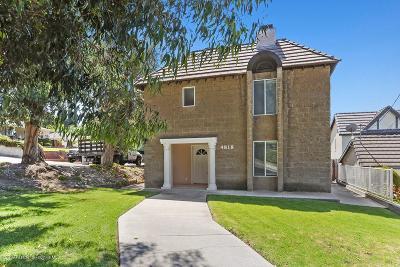 La Crescenta Single Family Home For Sale: 4818 Ramsdell Avenue