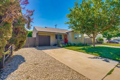 Panorama City Single Family Home Active Under Contract: 8108 Norwich Avenue