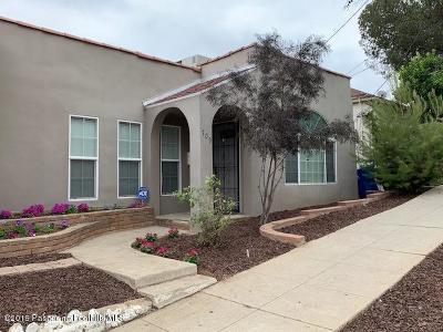 Single Family Home For Sale: 709 Coronado Terrace