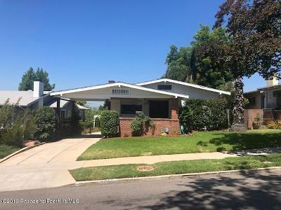 Los Angeles CA Single Family Home For Sale: $869,000