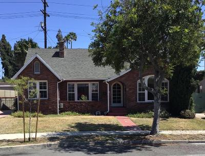 Glendale Single Family Home For Sale: 624 Beulah Street