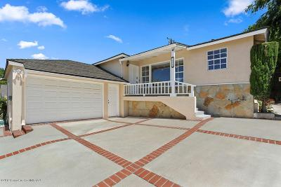 La Crescenta Single Family Home Active Under Contract: 3029 Markridge Road