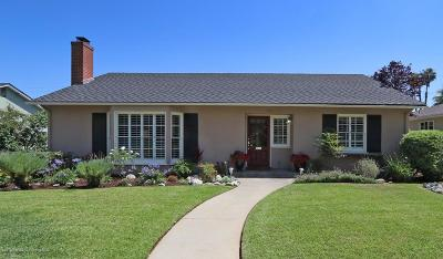 Altadena Single Family Home Active Under Contract: 1780 Midwick Drive