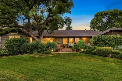 Altadena Single Family Home For Sale: 2293 Country Club Drive