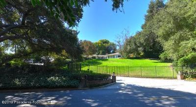 La Canada Flintridge Single Family Home For Sale: 954 Flintridge Avenue