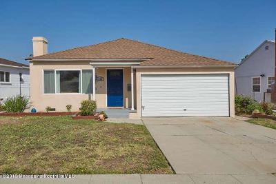 Alhambra Single Family Home For Sale: 1625 Cabrillo Avenue