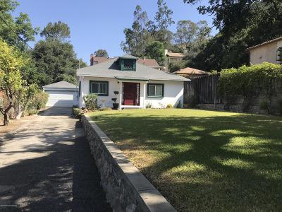 Glendale Single Family Home For Sale: 1845 Alpha Road