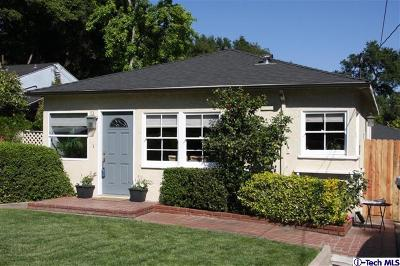 Pasadena Single Family Home For Sale: 1760 Bellford Avenue