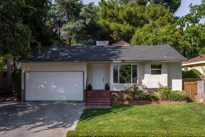 La Crescenta Single Family Home For Sale