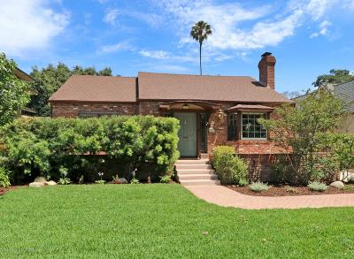South Pasadena Single Family Home For Sale: 1718 Oak Street