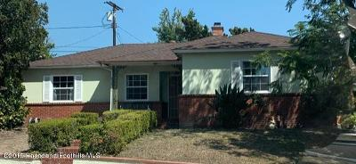 Burbank Single Family Home For Sale: 620 Irving Drive