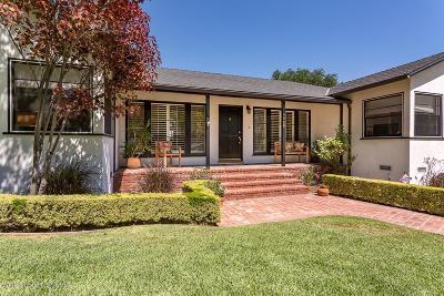 La Canada Flintridge Single Family Home Active Under Contract: 4848 La Canada Boulevard