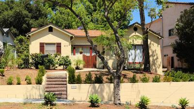 South Pasadena Single Family Home For Sale: 500 Fremont Avenue
