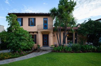 Los Angeles County Single Family Home Active Under Contract: 636 East Mendocino Street