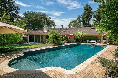 Pasadena Single Family Home For Sale: 600 Busch Place