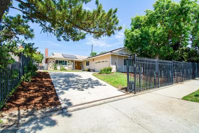 Sylmar Single Family Home Active Under Contract: 14053 Tyler Street