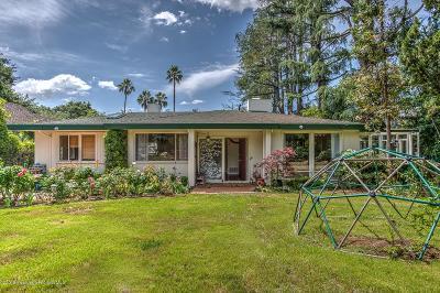Altadena Single Family Home For Sale: 1890 Homewood Drive