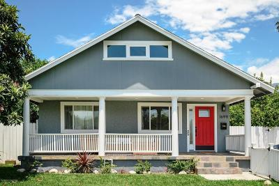 Pasadena Single Family Home Active Under Contract: 1699 Beverly Drive