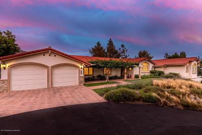 La Canada Flintridge Single Family Home For Sale: 5572 Vista Canada Place