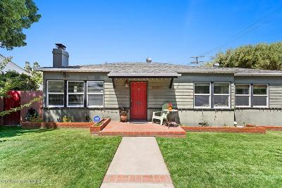 Sunland Single Family Home For Sale: 10257 Scoville Avenue
