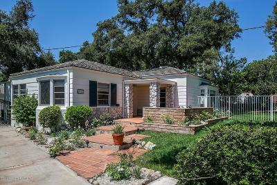 Altadena Single Family Home For Sale: 2225 North Altadena Drive