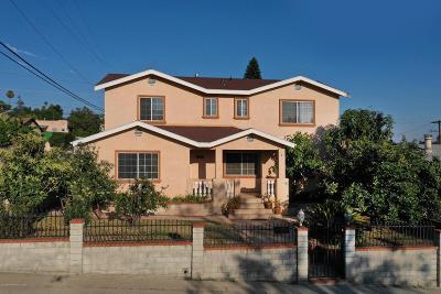 Eagle Rock Single Family Home For Sale: 5264 Lockhaven Avenue