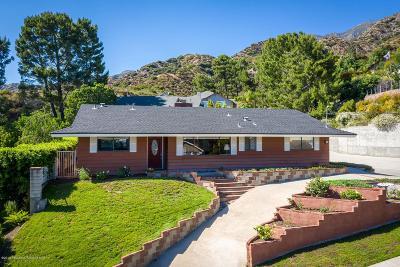 La Crescenta Single Family Home Active Under Contract: 3113 Cloudcrest Road