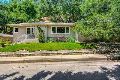 Glendale Single Family Home For Sale: 3151 San Gabriel Avenue