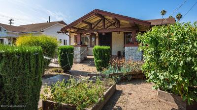 Los Angeles Single Family Home Active Under Contract: 4840 Converse Street